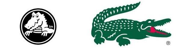 logo crocs lacoste